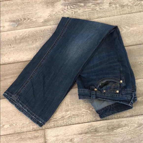 7fe9c42995407 Melissa McCarthy Seven Boot Jeans (18 - altered)